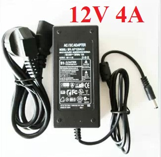 LCD power adapter 12V 4A